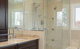 Hoffman Premium Glass Frameless Shower